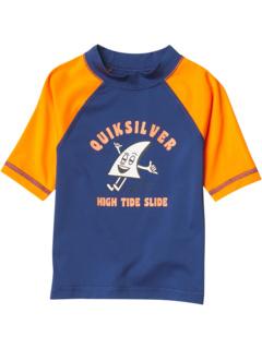 Рашгард с короткими рукавами Bubble Trouble (для малышей / маленьких детей) Quiksilver Kids