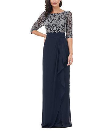 Платье с украшенным лифом JS Collections