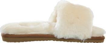 Тапочки-шлепанцы из натуральной плюшевой австралийской овчины SMITHS WORKWEAR