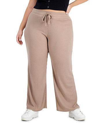 Модные широкие брюки больших размеров Hacci Derek Heart