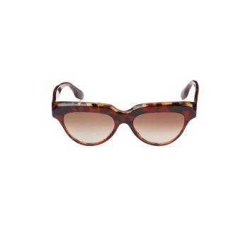 """Солнцезащитные очки """"кошачий глаз"""" 53 мм Victoria Beckham"""
