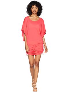 Пляжное платье Cosita Buena South Beach, накидка Luli Fama