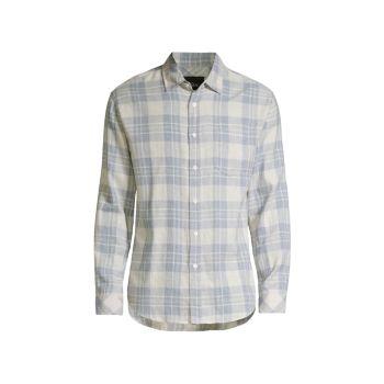 Рубашка на пуговицах Wyatt с длинным рукавом Rails