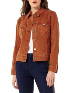 Классическая джинсовая куртка из эластичного твила Liverpool