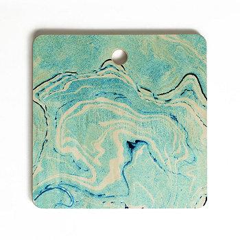 Разделочная доска Ocean Marble Square Deny Designs