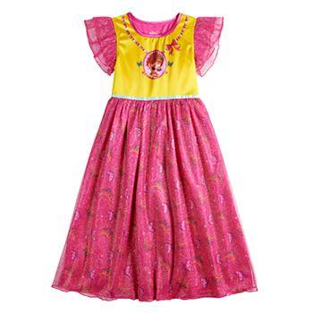 Disney's Fancy Nancy Girls 4-10 Fantasy Gown Nightgown Disney