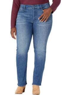 Plus Size Marilyn Straight Jeans in Hera NYDJ Plus Size