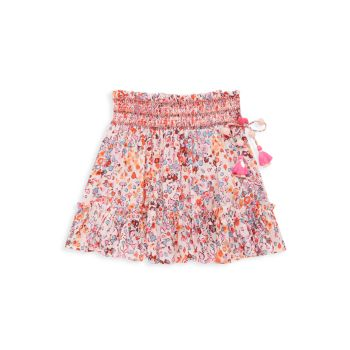 Маленькая девочка & amp; Мини-юбка Irma для девочек Poupette St Barth