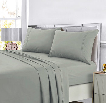 Super Soft Solid DP Простынь для легкого ухода с экстра глубоким карманом King Sheet Set Tribeca Living