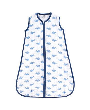 Baby Vision Baby Unisex Baby Safe Sleep Носимый Муслиновый Спальный Мешок, 1-Pack Hudson Baby