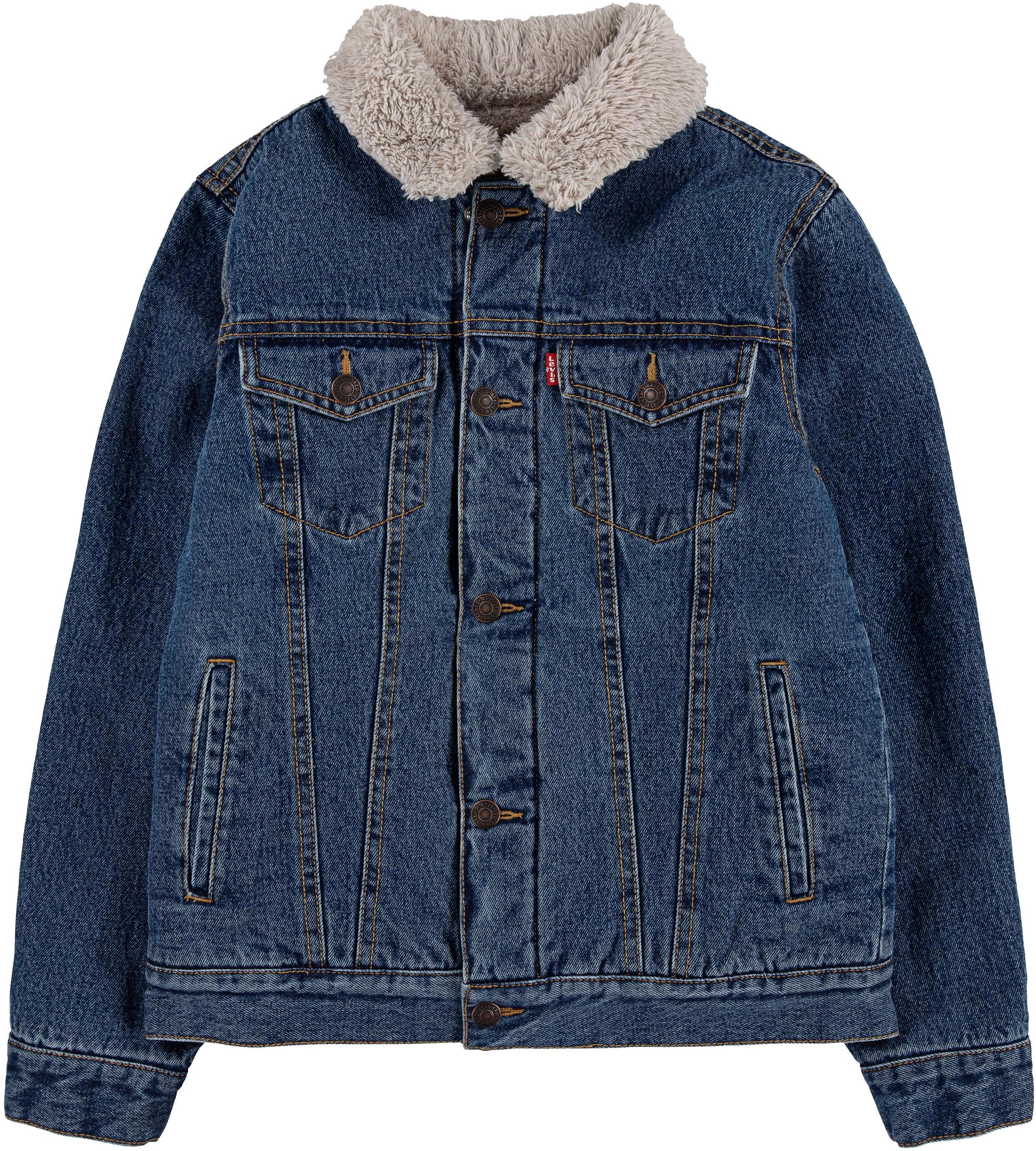 Куртка Trucker на подкладке из шерпы (для больших детей) Levi's®