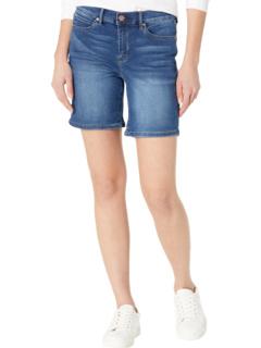 Вязаные джинсовые шорты 5 дюймов Nicole Miller New York