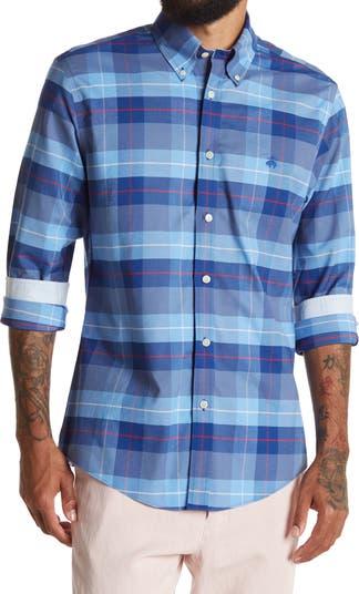 Рубашка Regent Fit в клетку Brooks Brothers