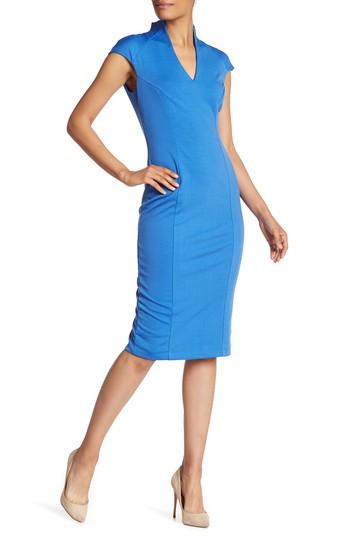 Платье-футляр с аквалангом-миди ALEXIA ADMOR
