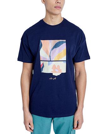 Мужская футболка с рисунком мимозы NATIVE YOUTH