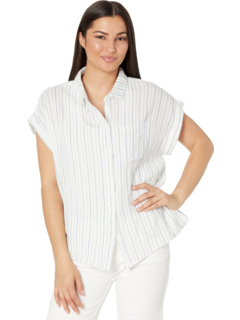 Classic Stripes Short Sleeve Camp Shirt Dylan by True Grit