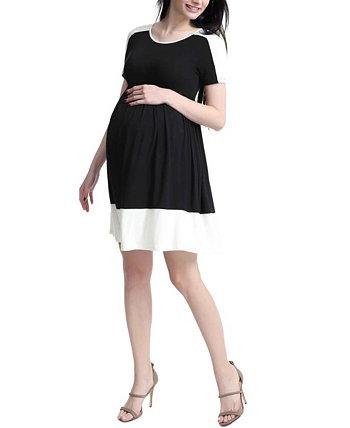Платье для фигуристов Kristin Maternity с цветными блоками Kimi + kai