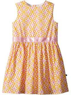 Розово-желтое платье для вечеринки в саду (для малышей / маленьких детей / детей старшего возраста) Toobydoo
