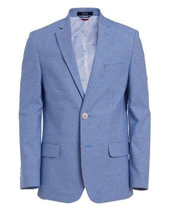 Эластичная куртка с узором «гусиные лапки» Big Boys Tommy Hilfiger
