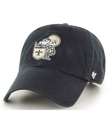 New Orleans Saints CLEAN UP Бейсболка с ремешком '47 Brand