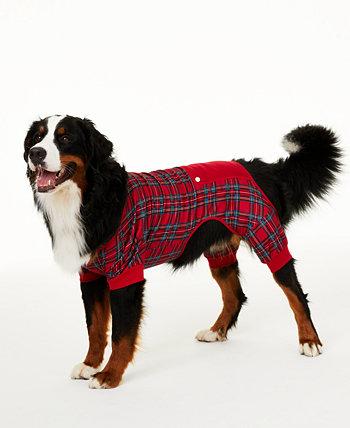 Matching Brinkley Plaid Pet Pajamas, Created for Macy's Family Pajamas