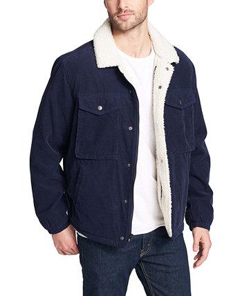 Мужская вельветовая куртка Trucker с флисовой подкладкой Levi's®
