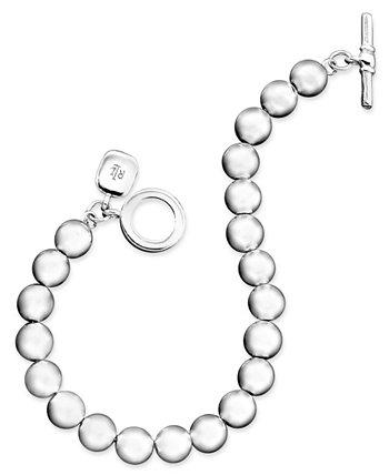 Серебряный браслет с бусинами (8 мм) Ralph Lauren