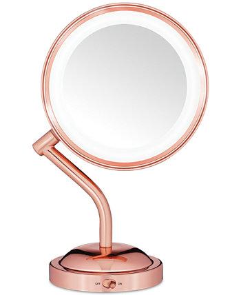 Зеркало из розового золота с отражением Conair