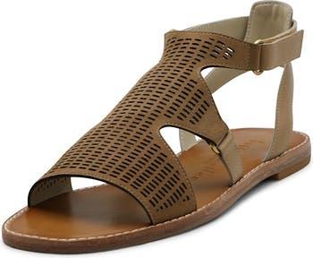 Kurt Perforated Leather Sandal Bettye Muller