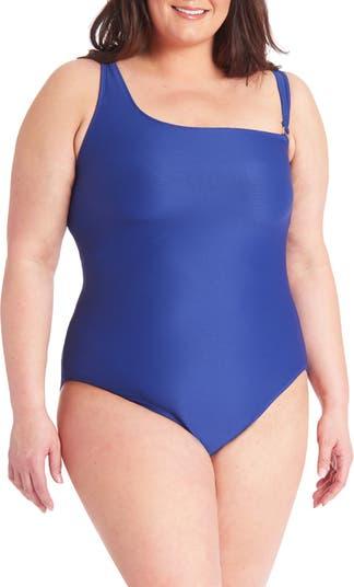 Ribbed One-Piece Swimsuit Rachel Roy