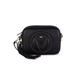 Кожаная сумка через плечо с логотипом Mia Valentino By Mario Valentino