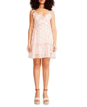 Juniors' Cami Ruffle Mini Dress Madden Girl