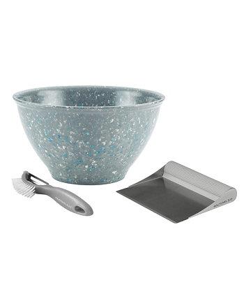 Кухонная миска для мусора, овощерезка и набор для чистки скамейки Rachael Ray