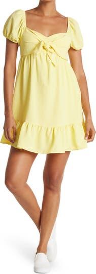 Платье Babydoll с объемными рукавами Vanity Room