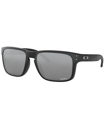 Солнцезащитные очки NFL Collection, Oakland Raiders OO9102 55 HOLBROOK Oakley