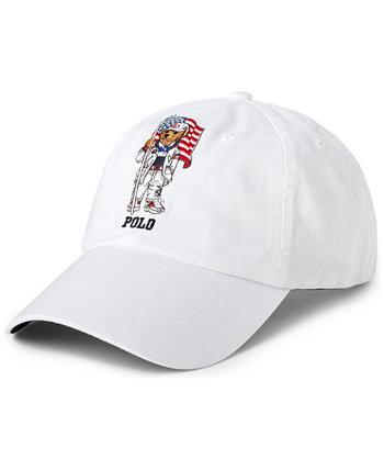 Men's Team USA Polo Bear Chino Ball Cap Ralph Lauren