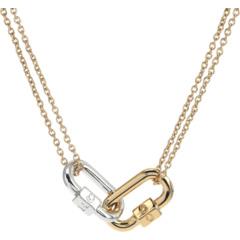 Carabiner Short Pendant Necklace COACH