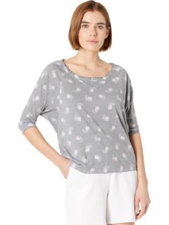 Укороченная футболка прямого кроя реглан из винтажного джерси Chaser