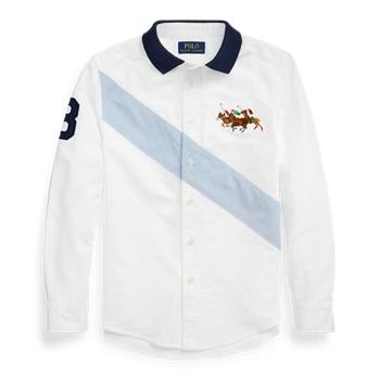 Cotton Oxford Polo-Collar Shirt Ralph Lauren