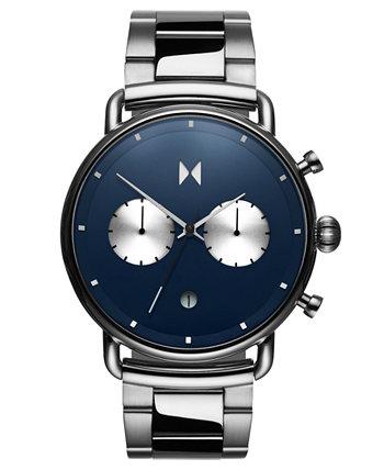 Часы Blacktop Astro Blue из нержавеющей стали с браслетом 47 мм MVMT