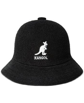 Men's Big Logo Casual Bucket Hat Kangol
