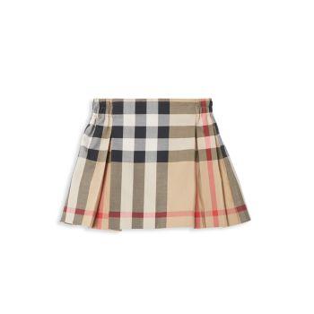 Baby Girl's & Little Girl's 1G3 Mini Hilde Check Skirt Burberry