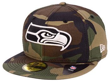 Кепка Seattle Seahawks Basic Fashion 59 FIFTY-FITTED New Era