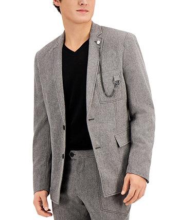 Мужской приталенный пиджак INC Lucas INC International Concepts