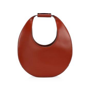 Большая сумка-хобо из кожи Moon STAUD