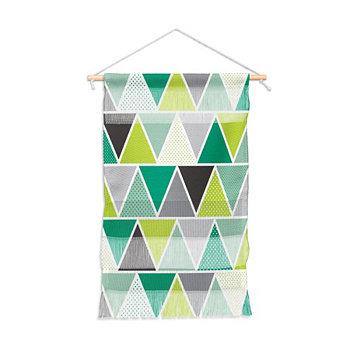 """Настенный портрет Хизер Даттон """"Изумрудный треугольник"""", 11 """"x16"""" Deny Designs"""