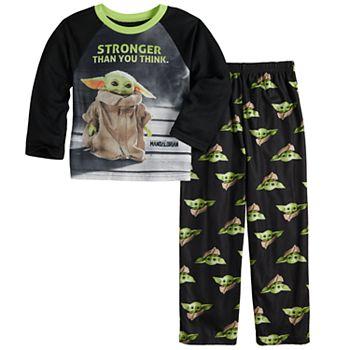 Boys 6-12 The Mandalorian The Child aka Baby Yoda 2-Piece Shirt & Pants Pajama Set Star Wars