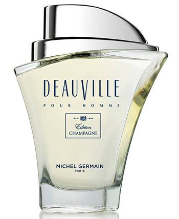 Мужская Deauville Pour Homme om dition Champagne Туалетная вода, 2,5 унции. Michel Germain