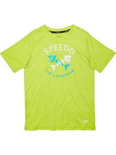 Short Sleeve Graphic Swim Shirt (Little Kids/Big Kids) Speedo Kids