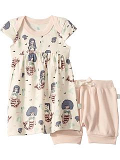 Платье с цветком (младенец / малыш) Finn + emma